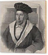 Georg Wilhelm Friedrich Hegel Wood Print