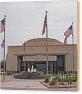 George Bush Presidential Library Wood Print