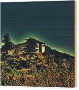George Everest Observatory Wood Print