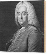 George Frederic Handel Wood Print