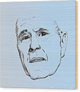 George H. W. Bush Wood Print