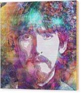 George Harrison Wood Print