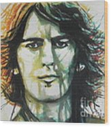 George Harrison 01 Wood Print