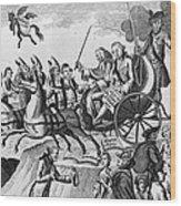 George IIi Cartoon, 1775 Wood Print