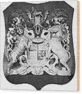 George IIi: Coat Of Arms Wood Print
