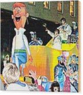 George Jetson Poster Wood Print