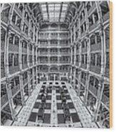 George Peabody Library II Wood Print