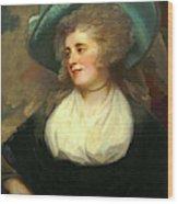 George Romney, British 1734-1802, Lady Arabella Ward Wood Print