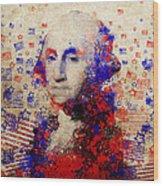 George Washington 3 Wood Print
