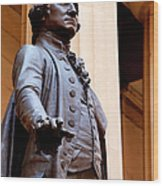 George Washington Wood Print by Brian Jannsen