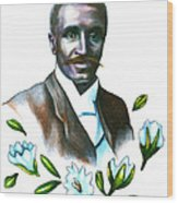 George Washington Carver Wood Print