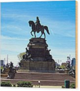 George Washington Monument Wood Print