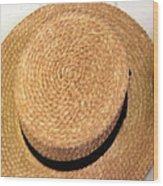 George Wilcox Hat Wood Print