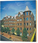Georgetown Apartments - 1980s Wood Print