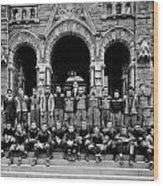 Georgetown Football 1910 Wood Print