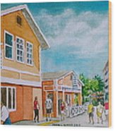 Georgetown Grand Cayman Wood Print