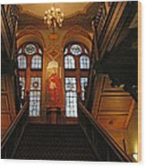 Georgetown's Healy Hall Wood Print