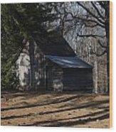 Georgia Barn Wood Print