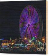 Georgia State Fair 2014  2 Wood Print
