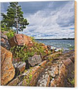 Georgian Bay Wood Print