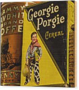 Georgie Porgie Wood Print