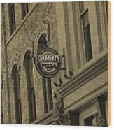 Georgio's Pizza Grand Rapids Michigan Wood Print