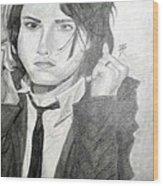 Gerard Way Wood Print