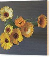 Gerbera bouquet Wood Print