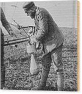 German Aeroplane Bomb, World War I Wood Print