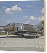 German Air Force F-4f Phantom II Wood Print