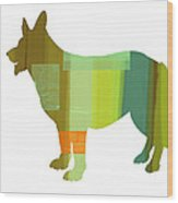 German Sheppard 1 Wood Print
