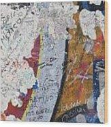 Germany, Berlin Wall Berlin Wood Print