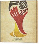Germany World Cup Champion Wood Print