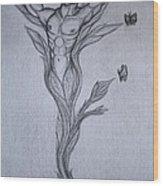 Germinal The Birth Of The Free Man Wood Print