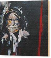 Geronimo Wood Print