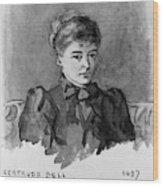 Gertrude Bell (1868-1926) Wood Print