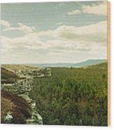 Gertrudes Nose Hiking Trail Wood Print