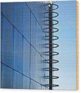 Getty Center Ladder Wood Print