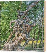 Gettysburg Battleground Memorial Wood Print