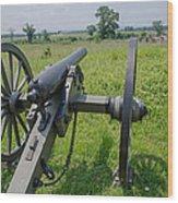 Gettysburg Cannon 2  Wood Print