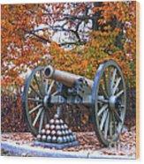 Gettysburg High Water Mark Wood Print