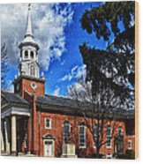 Gettysburg Lutheran Seminary Chapel Wood Print