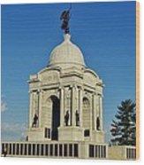 Gettysburg - Pennsylvania Memorial Wood Print