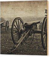 Gettysburg Revisited Wood Print