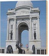 Gettysburg Union Monument Wood Print