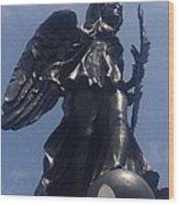 Gettysburg's Guardian Angel Wood Print