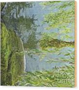 Gezaehmte Frisur Wood Print