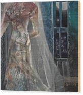 Ghost Bride Wood Print