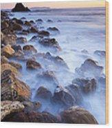 Ghost Coast  Wood Print