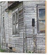 Ghost House Wood Print